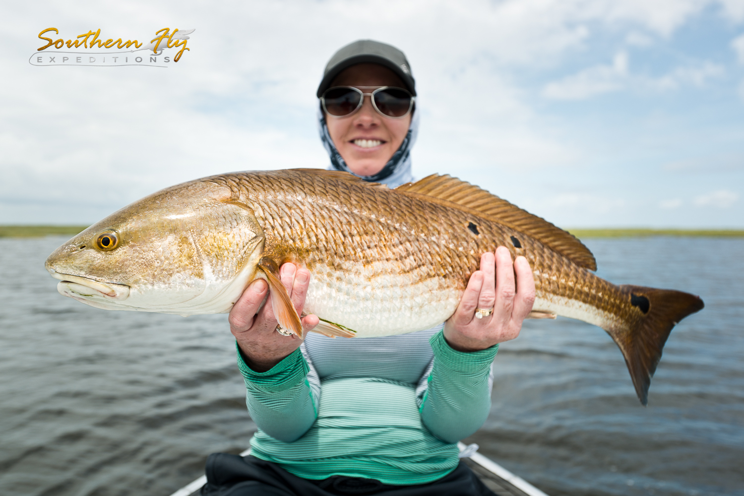 Women and Couples Fly Fishing Trips for Red Drum