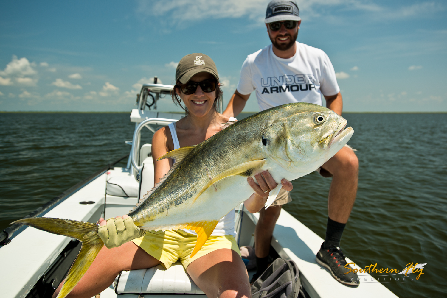 Fiesty Jack Crevalle Fly Fishing New Orleans
