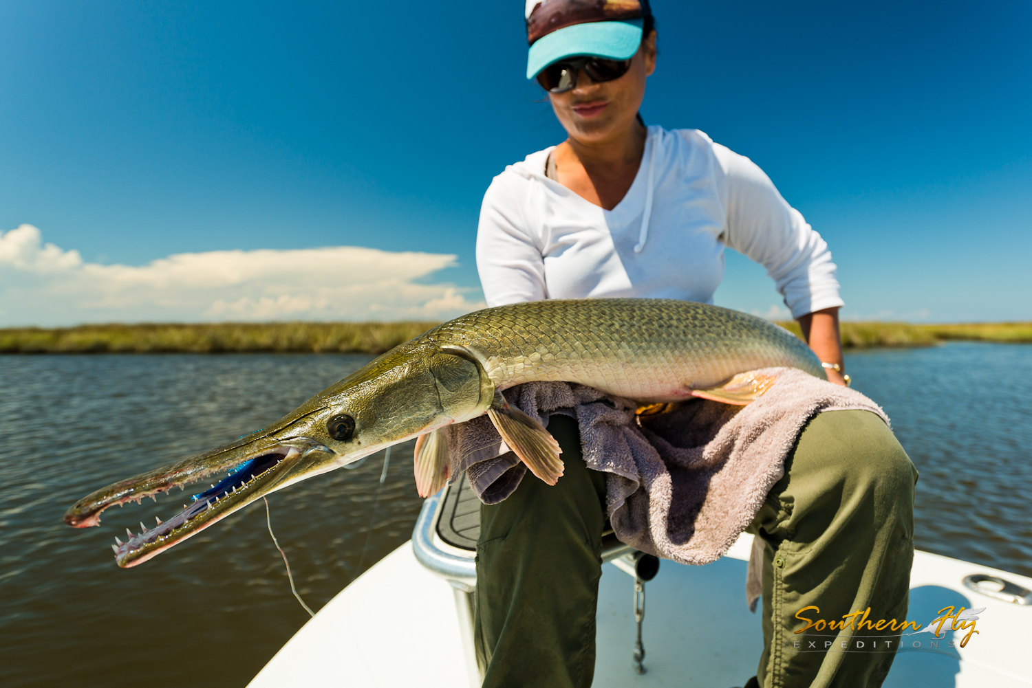 Best Ladies Fly Fishing Guide New Orleans