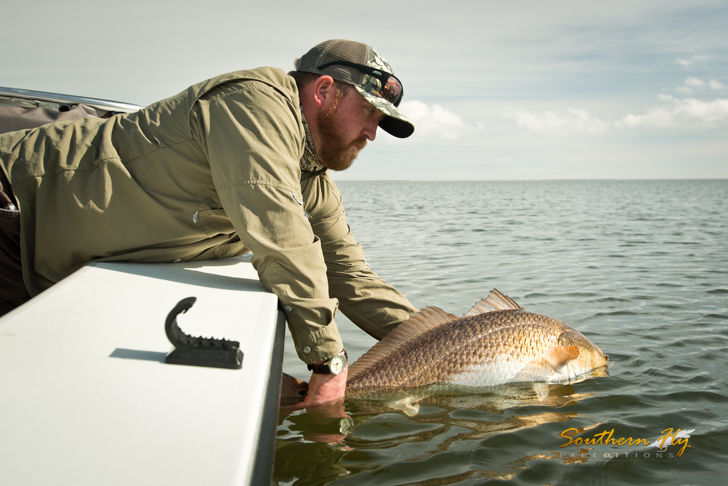 Fly fishing new orleans louisiana with Southern Fly Expeditions