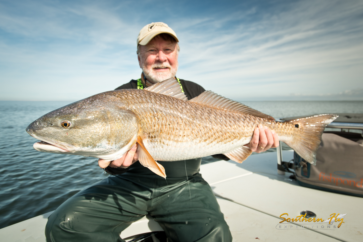 Fishing guides in Louisiana and fishing for redfish with southern fly expeditions