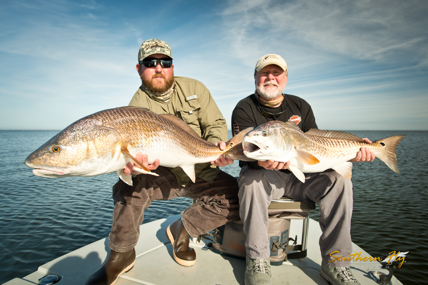 Fishing charters in Louisiana with Southern Fly Expeditions and Captain Brandon Keck