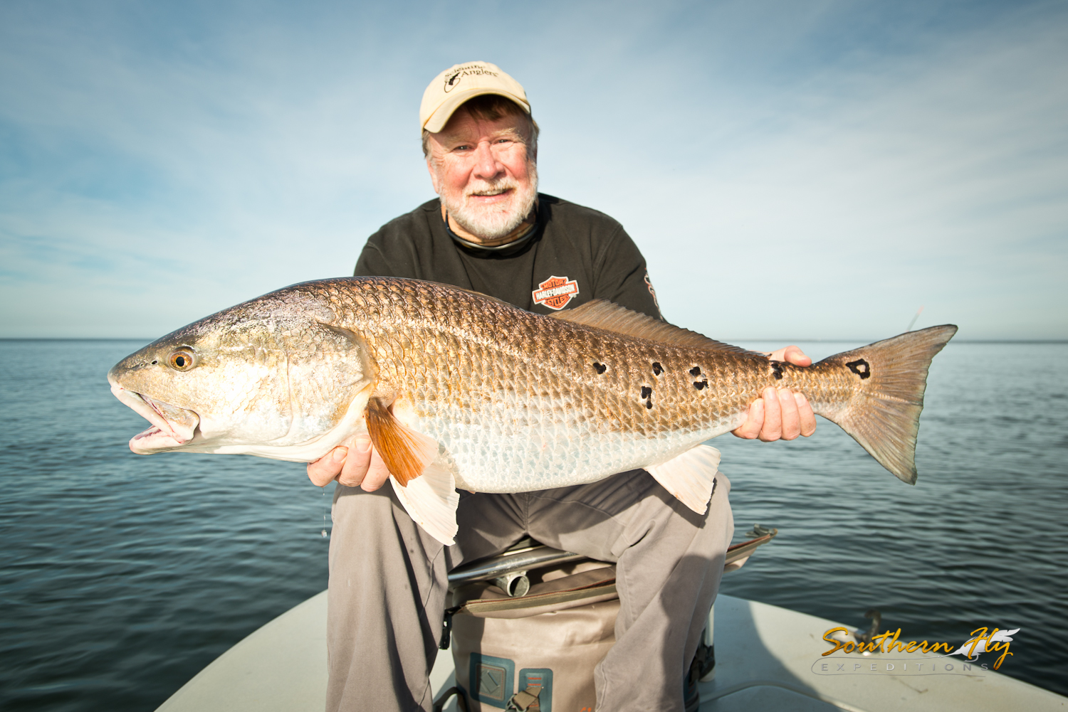 Fly Fishing for Redfish in Louisiana with Captain Brandon Keck