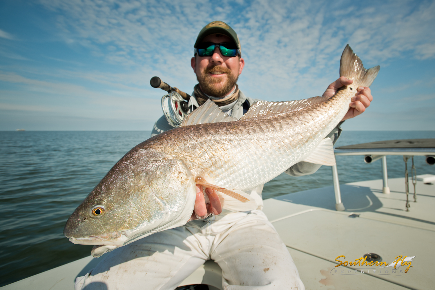 fly fishing new orleans guides by Southern Fly Expeditions redfish guide
