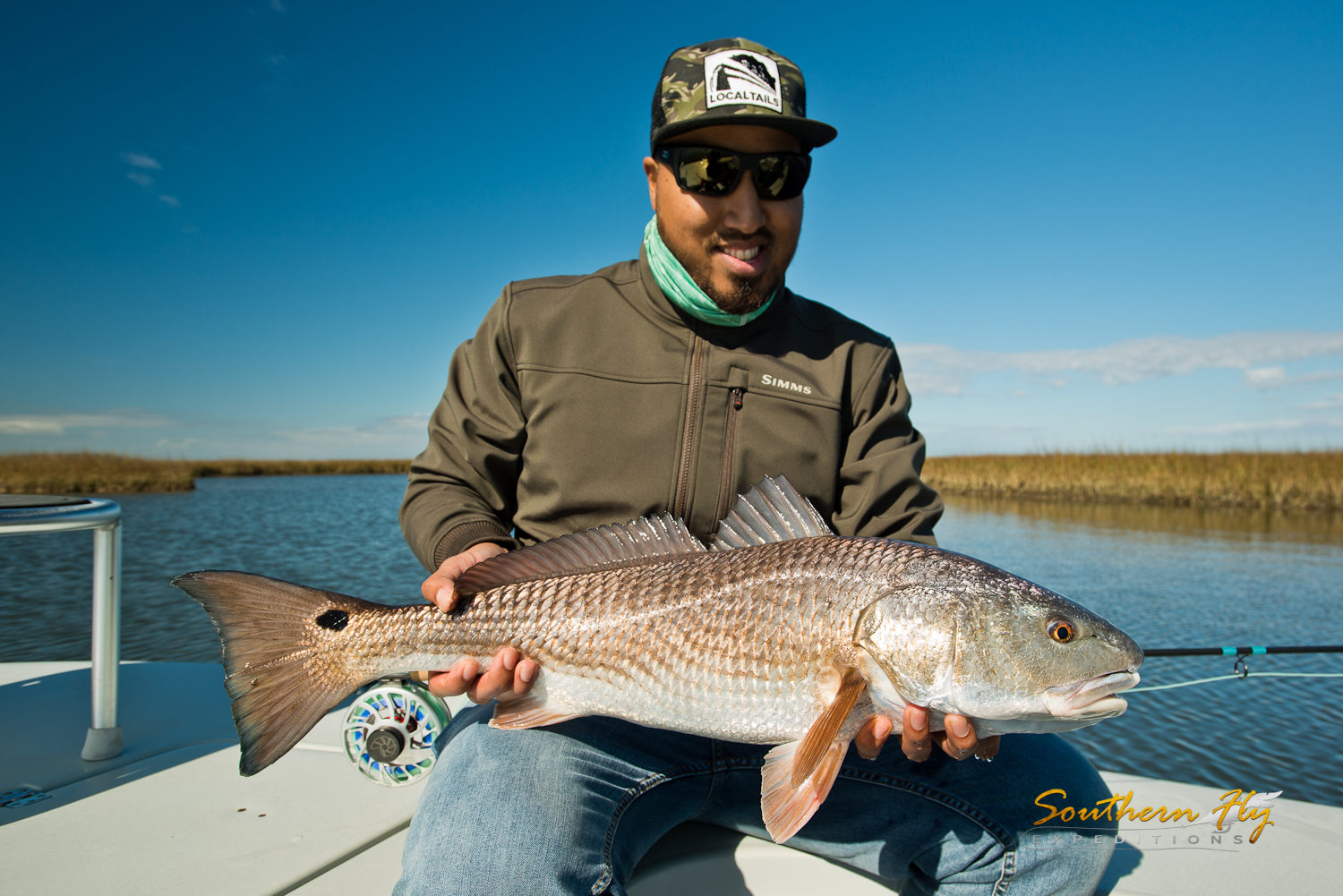 Fly Fishing Louisiana guides by Southern Fly Expeditions and Captain Brandon Keck