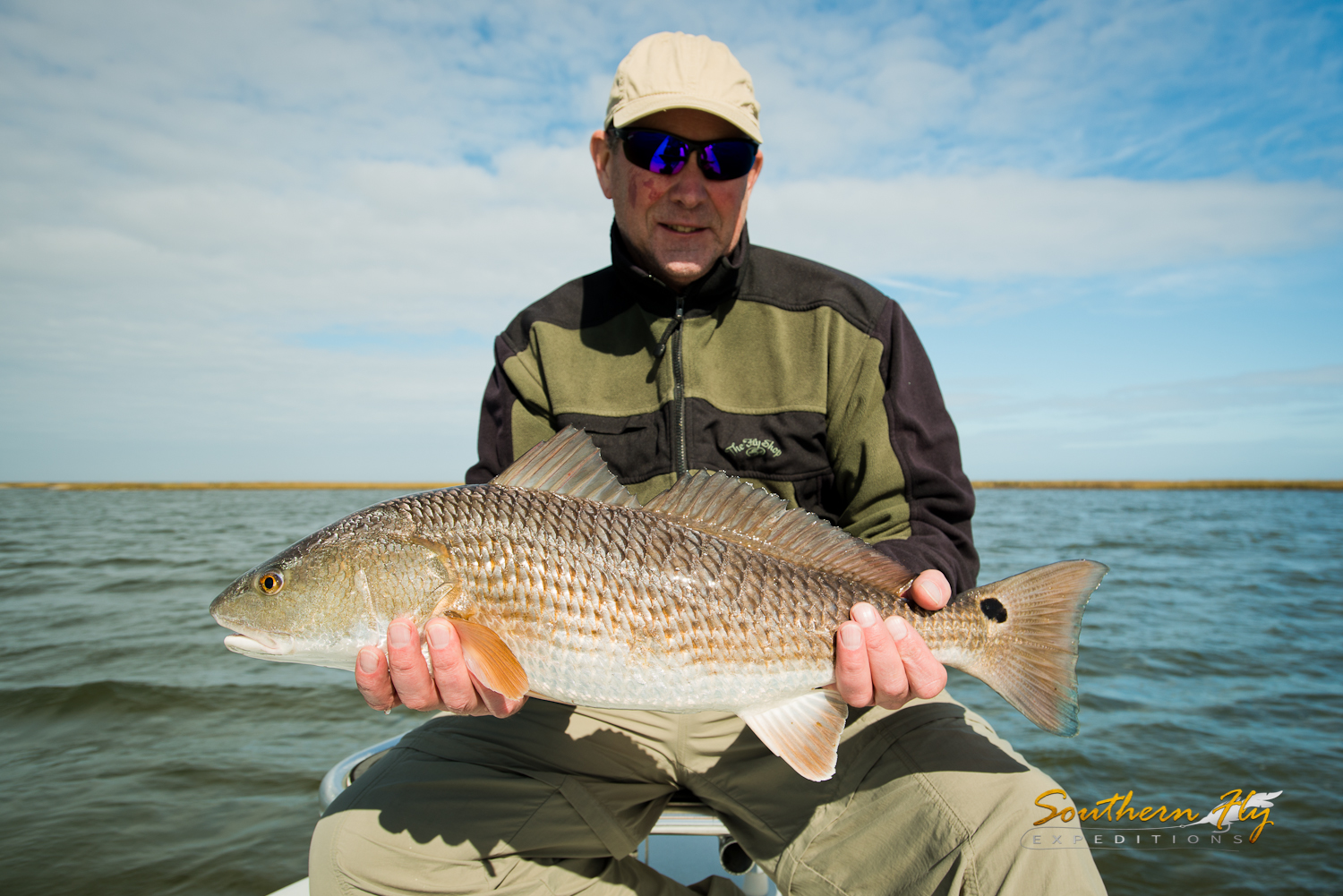 best fishing guides in new orleans louisiana - southern fly expeditions and captain brandon keck
