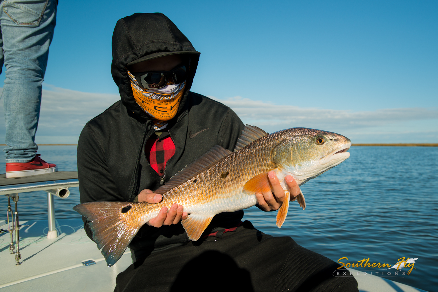 fly fishing in the winter for redfish - best time to fly fish in louisiana by southern fly expeditions