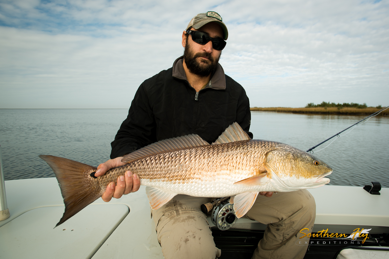 Fly Fishing new orleans louisiana with southern fly expeditions - best fly fishing guide in louisiana