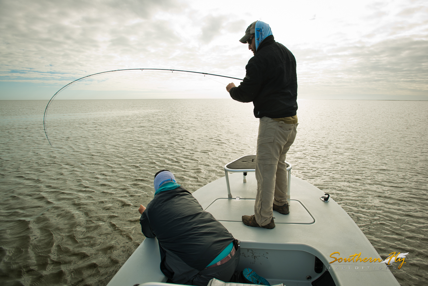Fly fishing and light tackle fishing in New Orleans Louisiana with Southern Fly Expeditions