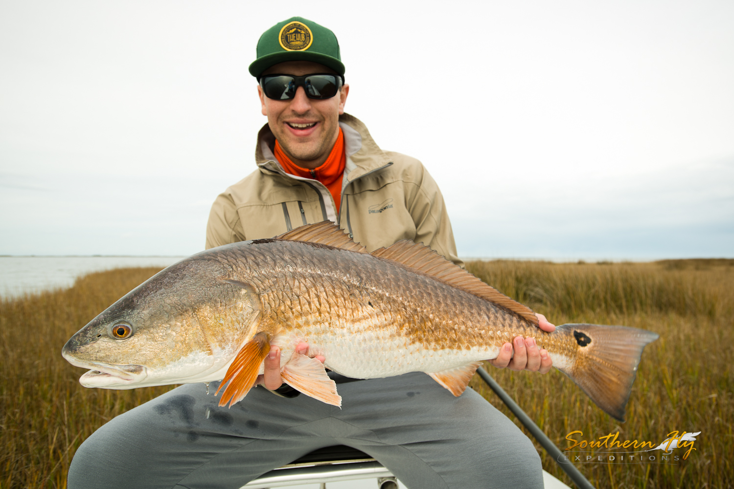 Fishing hopedale louisiana with southern fly expeditions and captain brandon keck
