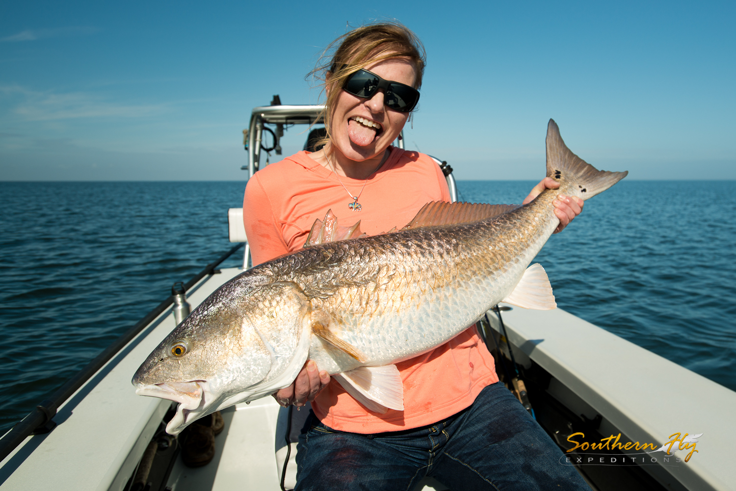 Woodland louisiana fly fishing with Southern Fly Expeditions and Captain Brandon Keck