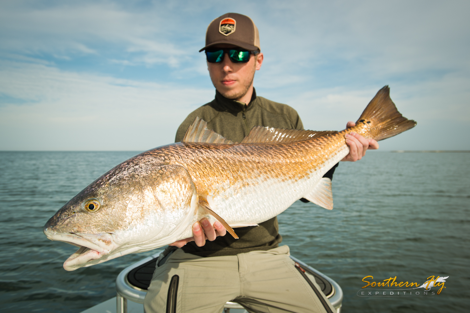 Fly Fishing Houma Louisiana with Southern Fly Expeditions
