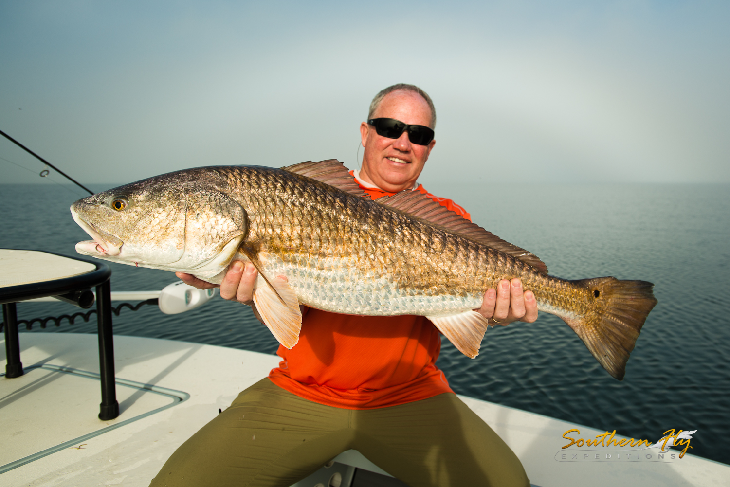 Fly Fishing in Hopedale Louisiana with the best fly fishing guide southern fly expeditions