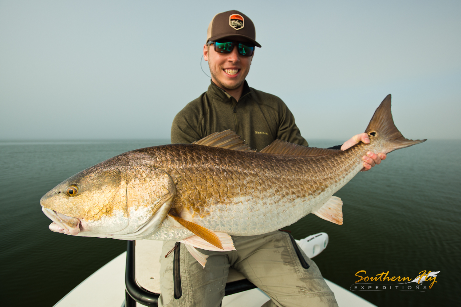 Fly Fishing Louisiana with Southern Fly Expeditions Redfish Guides of New Orleans