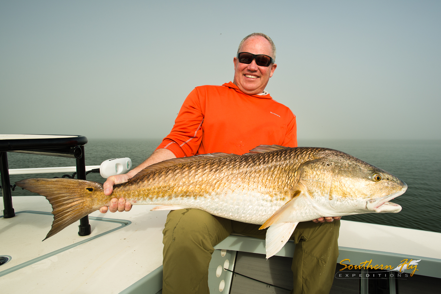 Fly fishing for redfish new orleans louisiana with fisherman captain brandon keck and southern fly expeditions