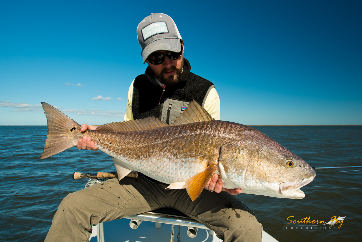 Southern Fly Expeditions fly fishing guide and light tackle guide in new orleans and southern louisiana