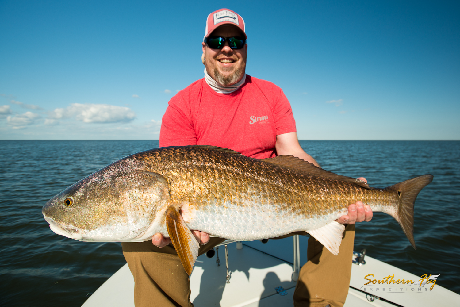Fly Fishing for Redfish in Southern Louisiana with Southern Fly Expeditions of New Orleans