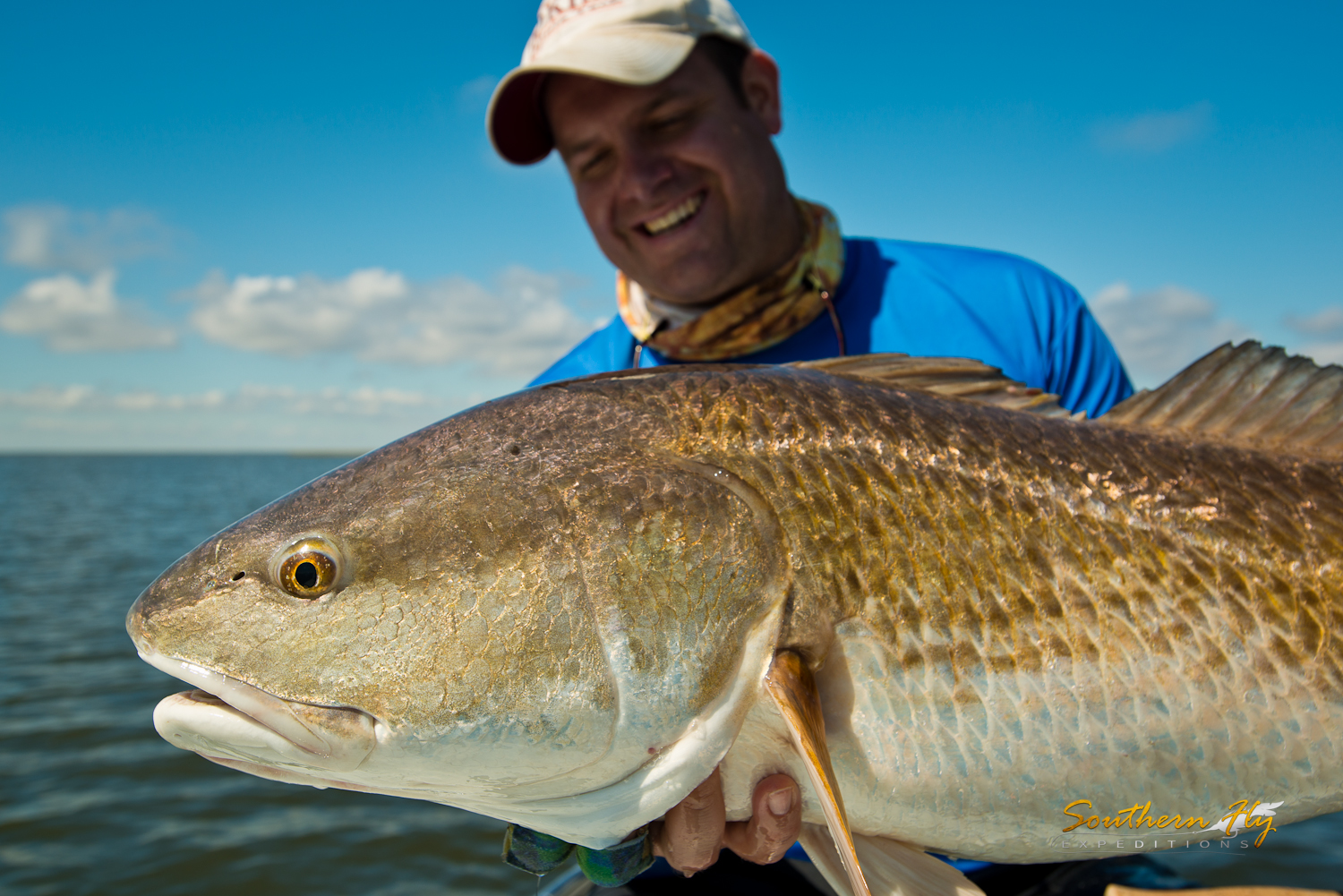 where to find redfish in Louisiana waters Southern Fly Expeditions and captain brandon keck