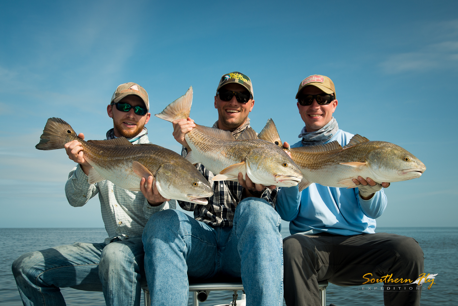 South Carolina Anglers Fly Fishing New Orleans