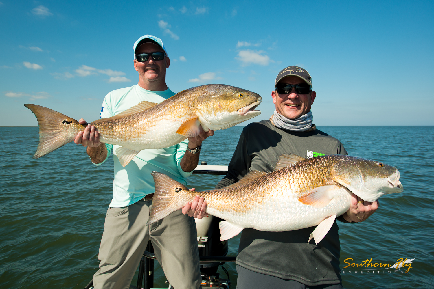 how to catch redfish in Louisiana with Southern Fly Expeditions