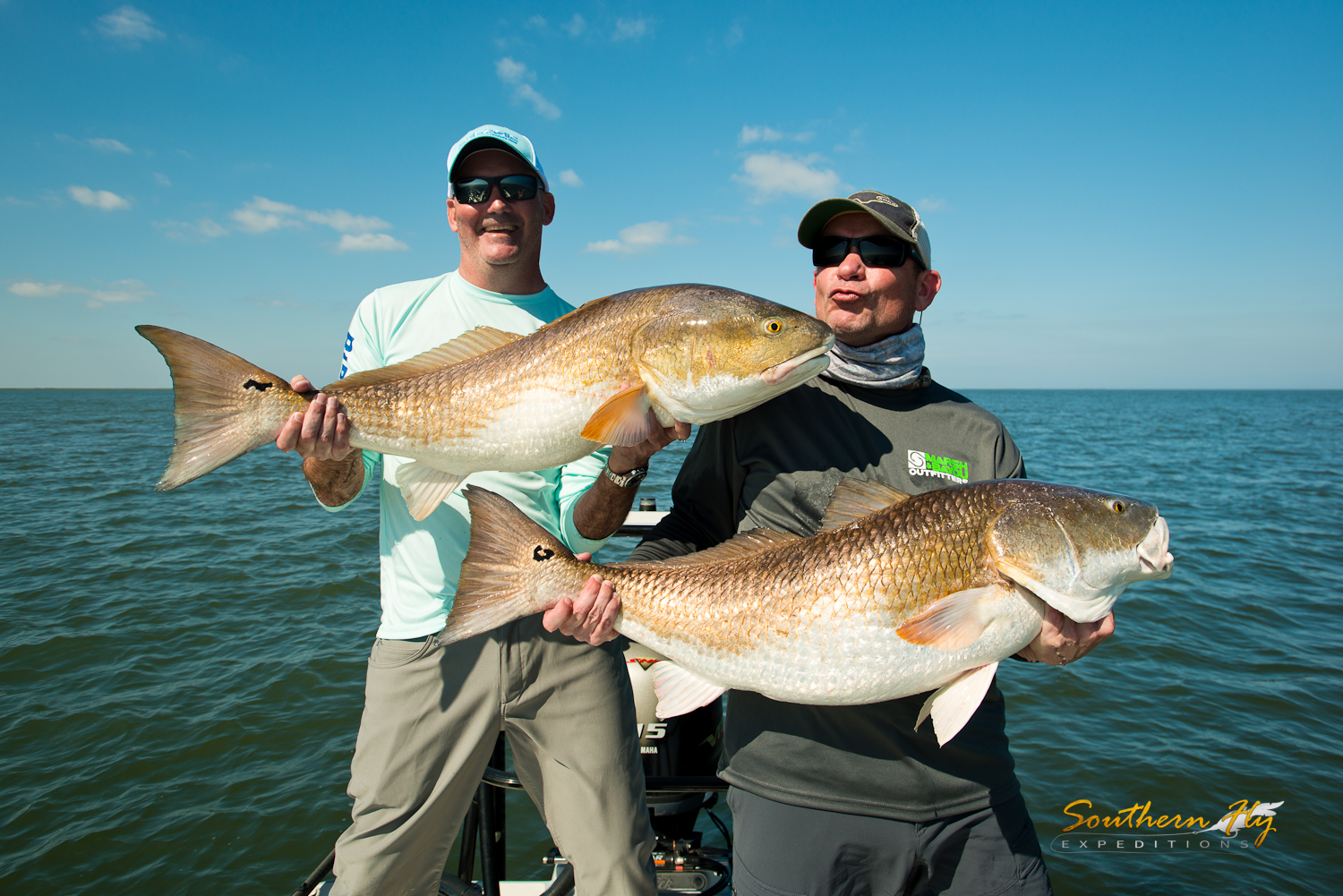 how to catch redfish with Southern Fly Expeditions and captain brandon keck of new orleans la