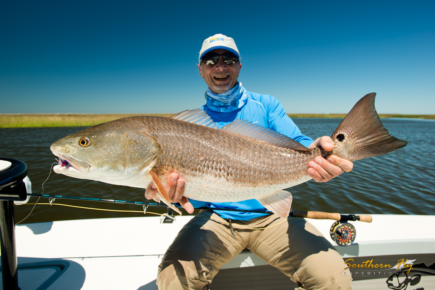 Fly Fishing New Orleans with Southern Fly Expeditions and Captain Brandon Keck