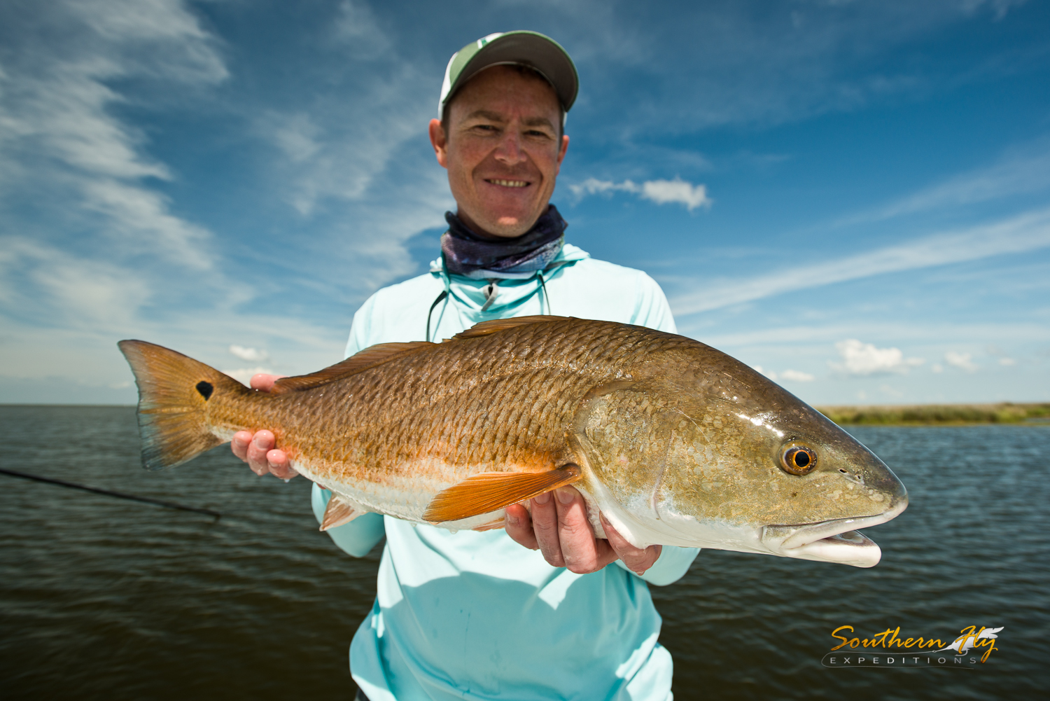 Massachusetts Anglers Fly Fishing New Orleans with Southern Fly Expeditions