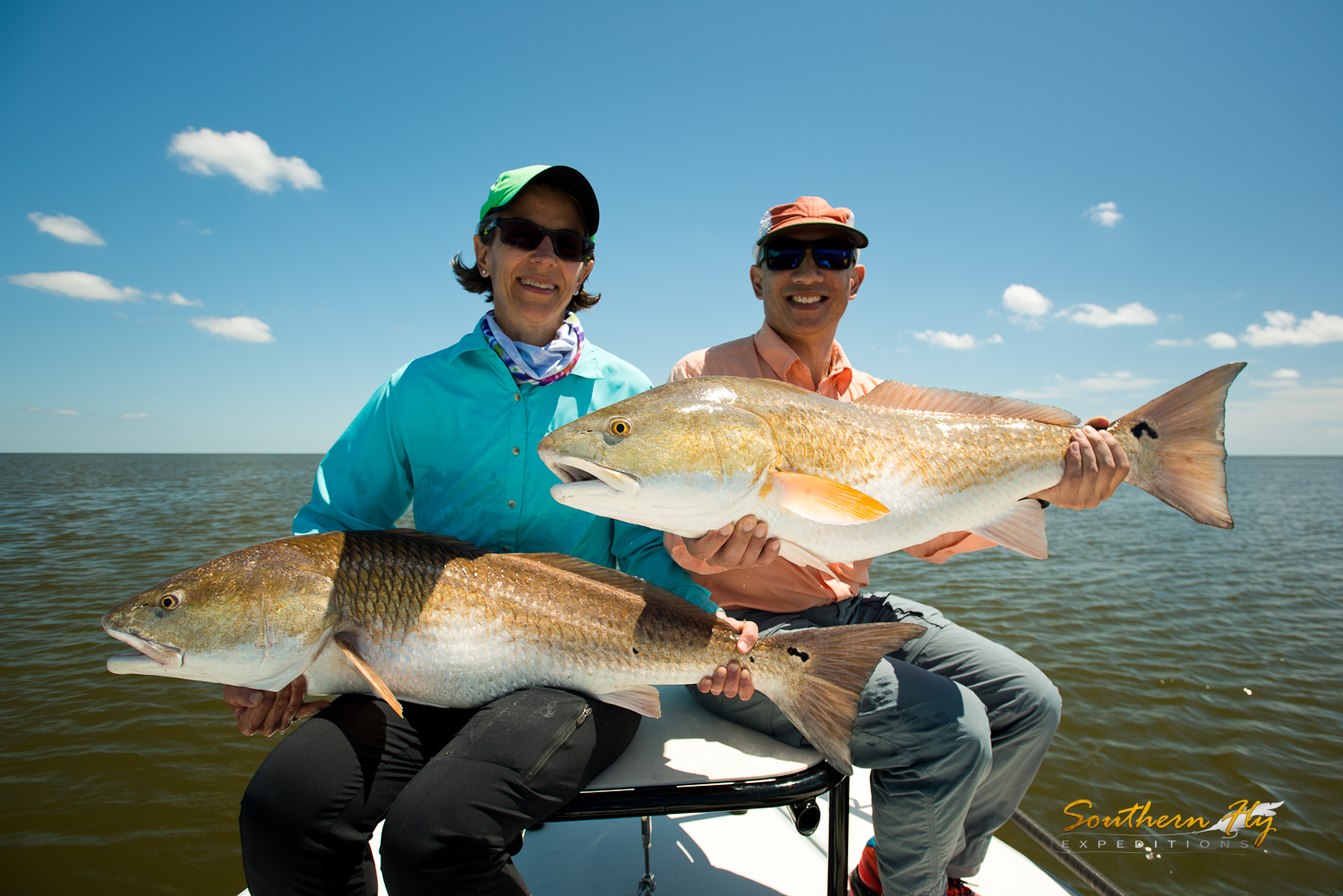 Couple Fly Fishing Trips New Orleans Southern Fly Expeditions