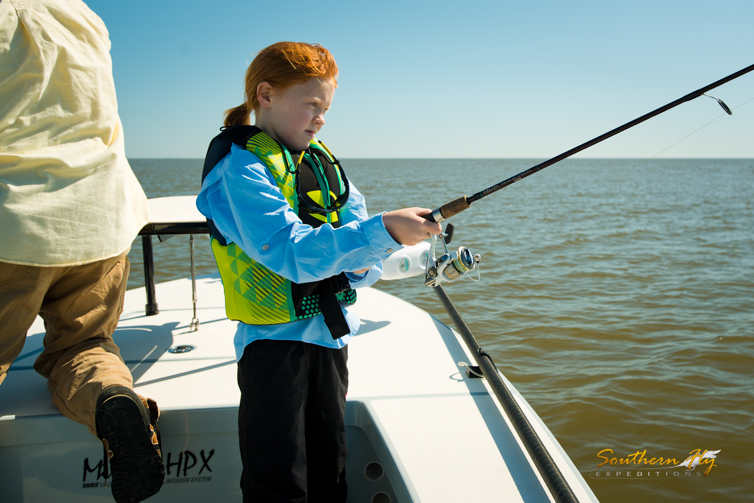 Fly Fishing Trips for Kids New Orleans
