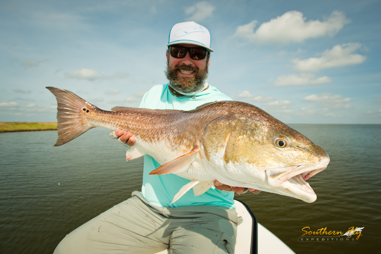 Marsh water Fly Fishing New Orleans with Southern Fly Expeditions - Fly Fishing New Orleans