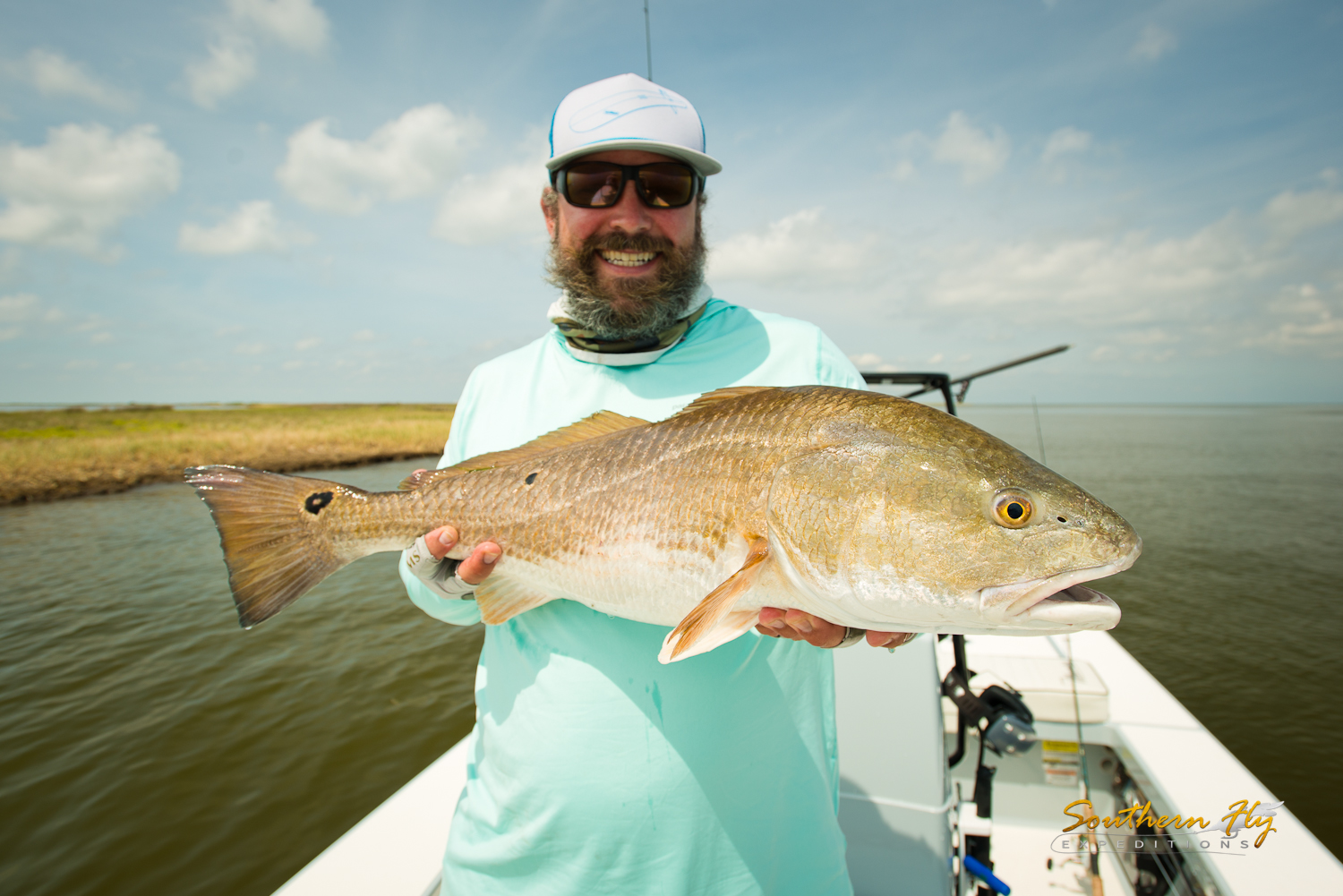 Sight Fishing Reds New Orleans