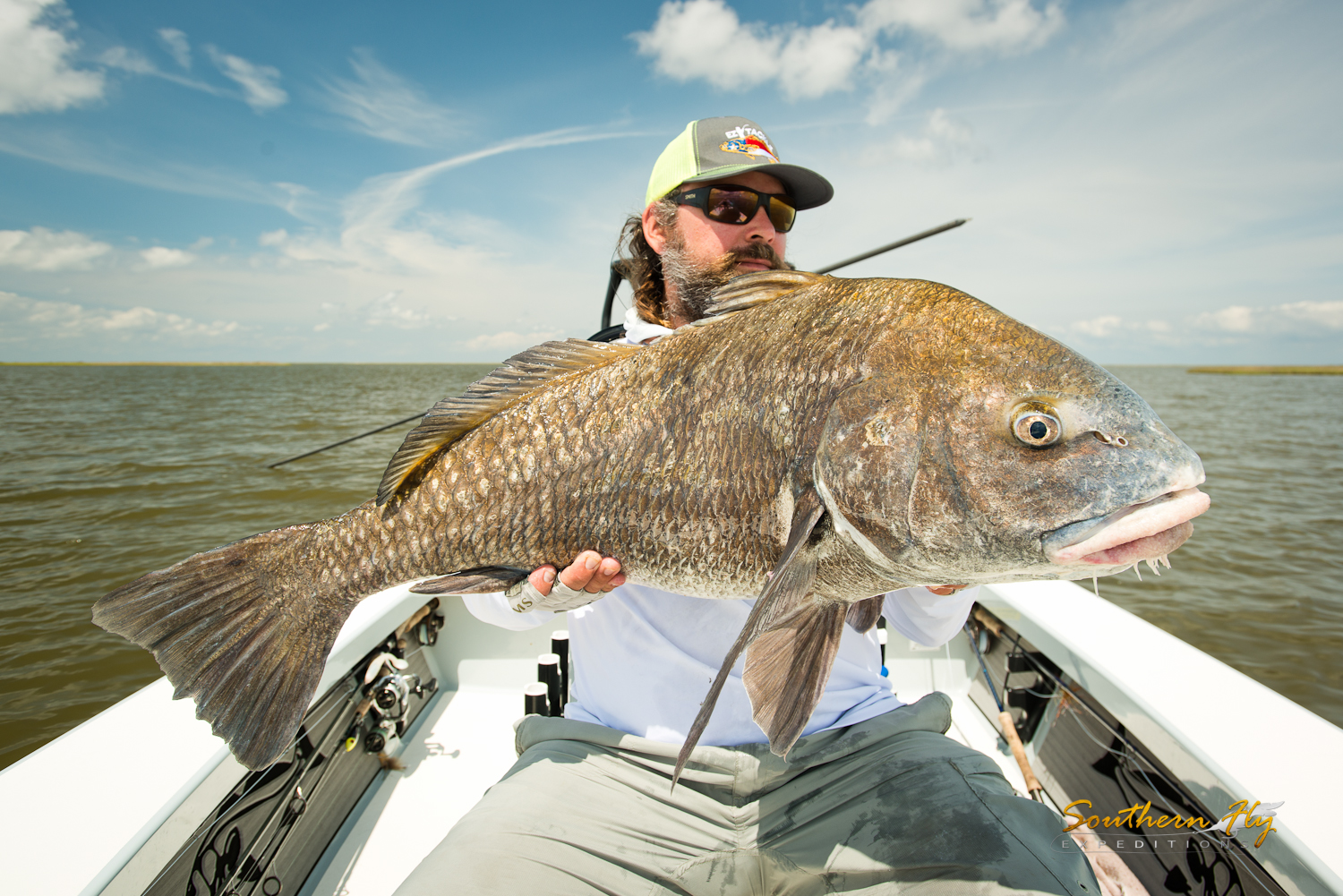 Reeling in Monster Reds in New Orleans with Southern Fly Expeditions
