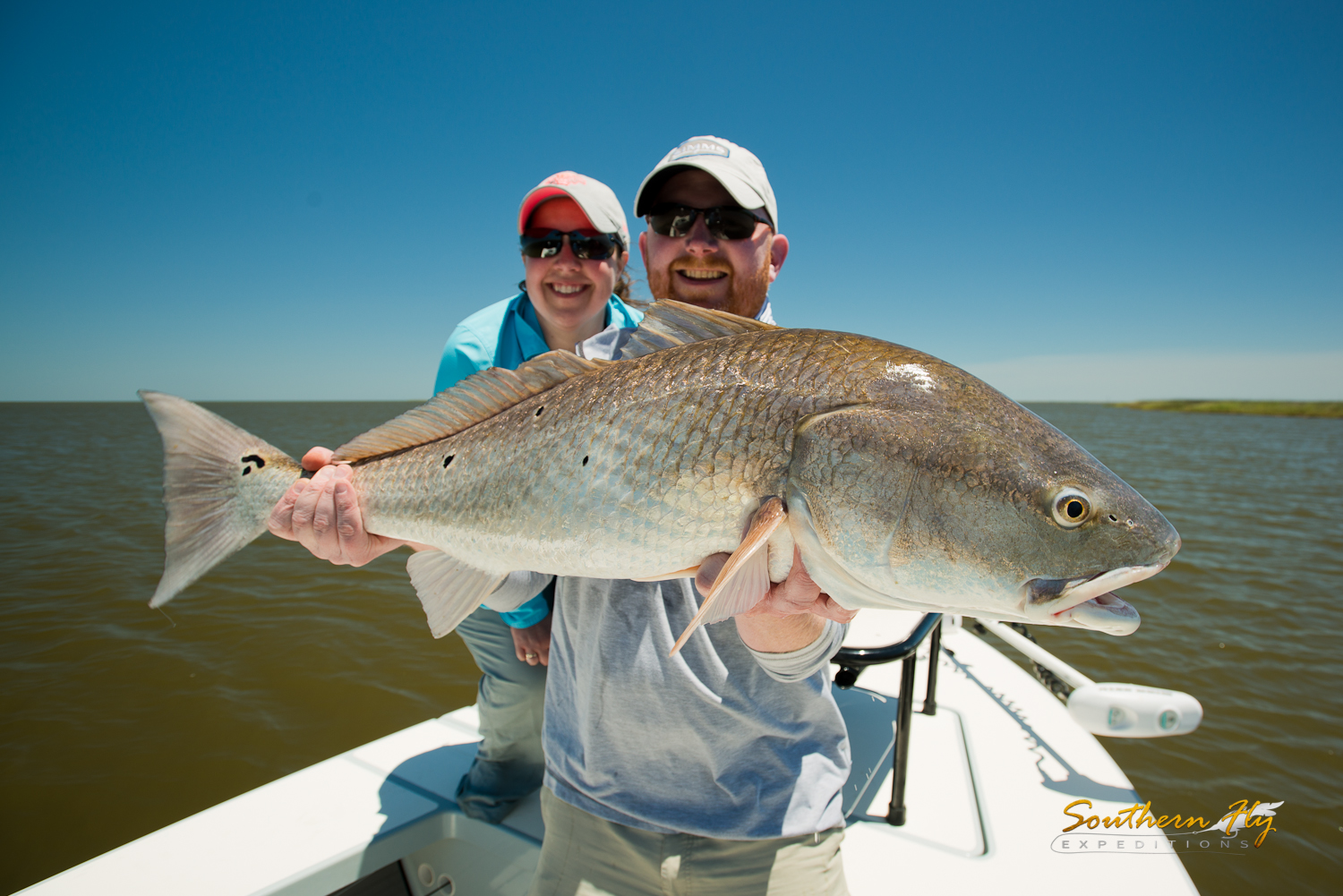 Couple Weekend Fly Fishing Trip New Orleans