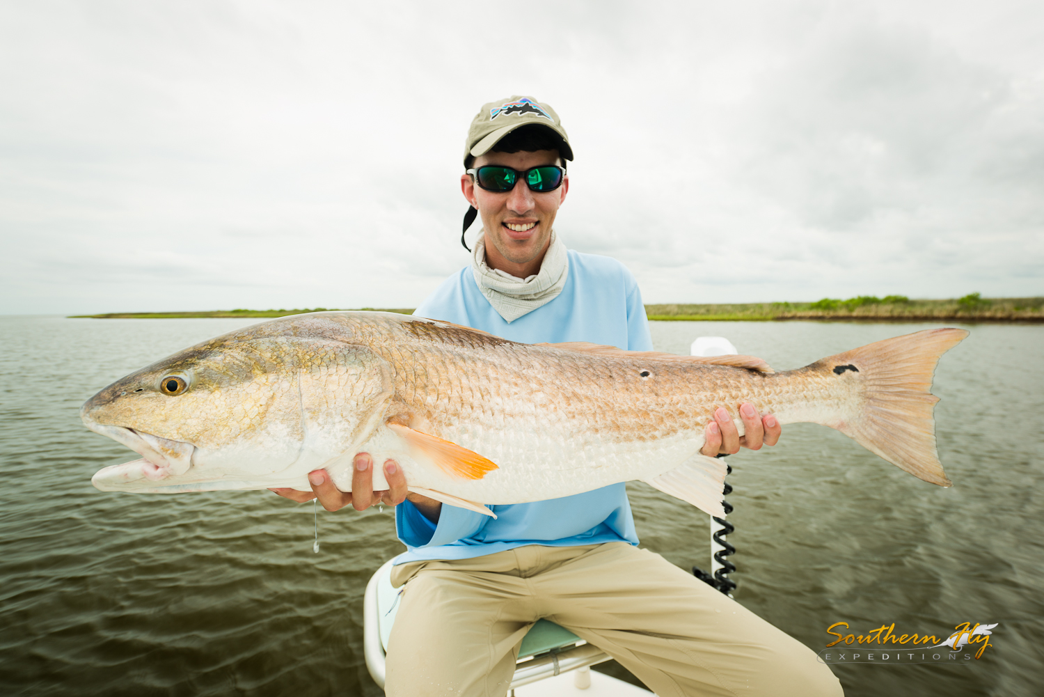 Red Drum Light Tackle Fly Fishing with Captain Brandon Keck New Orleans