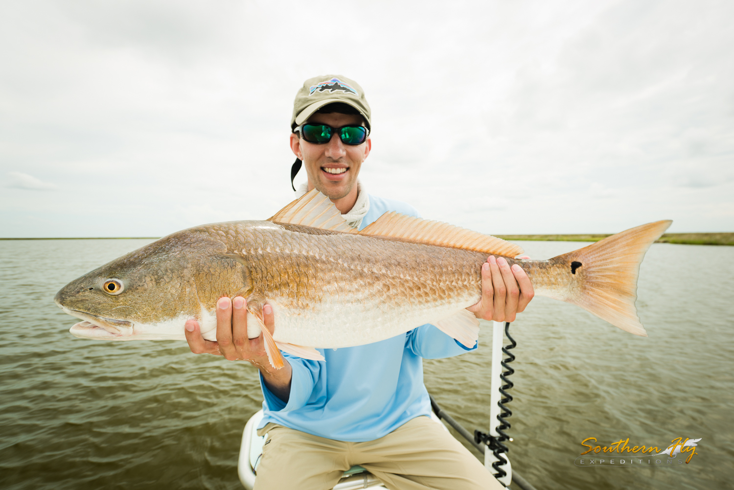 Shallow water fly fishing Southern Fly Expeditions New Orleans