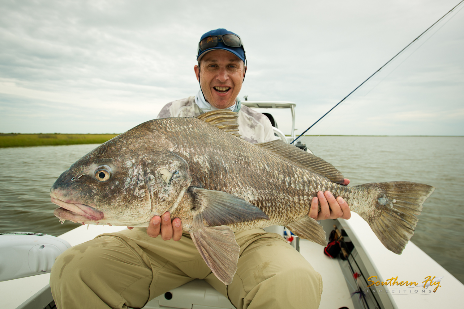 Shallow Water Fly Casting with Fly Fishing Guide Brandon Keck New Orleans