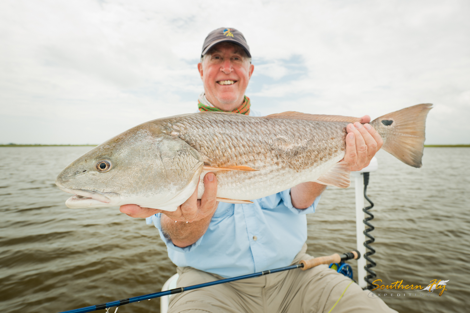 2 Day Fishing Trip New Orleans Shallow Water Fly Casting Louisiana Salted Flats