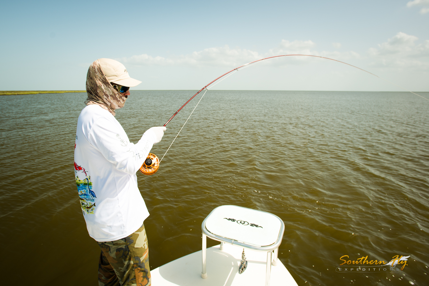 Fly Fishing New Orleans Louisiana with Southern Fly Expeditions and Brandon Keck