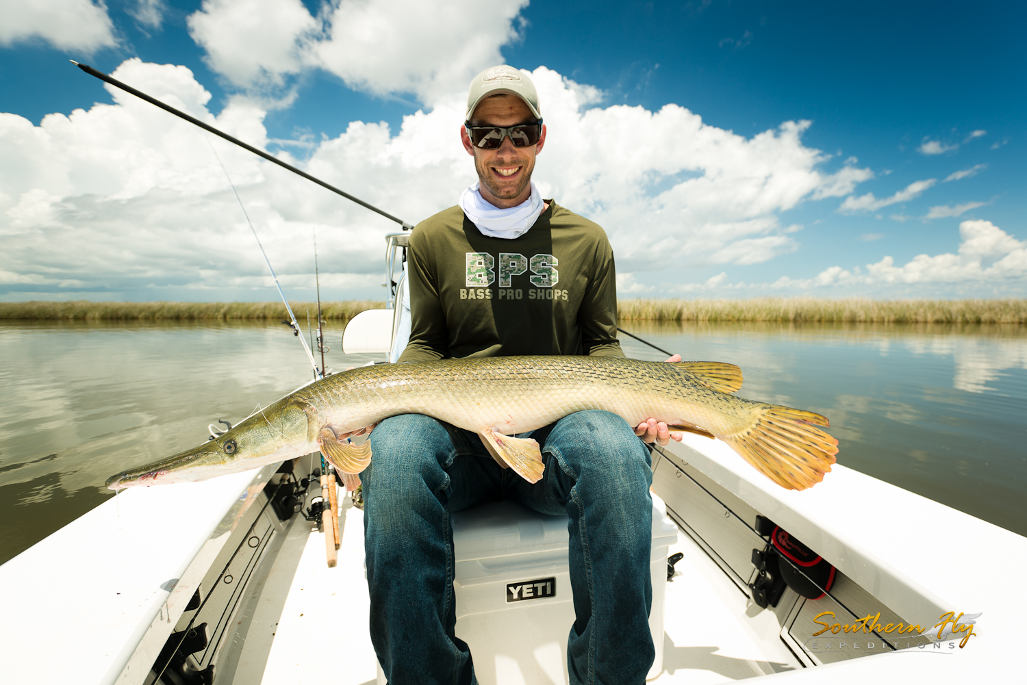 fly fishing new orleans and fly fishing louisiana - Southern Fly Expeditions the best redfish guide in Louisiana