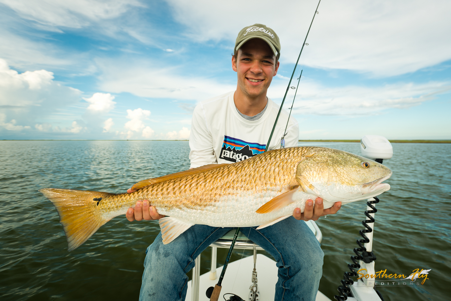 New Orleans fly fishing and light tackle guide southern fly expeditions and captain brandon keck