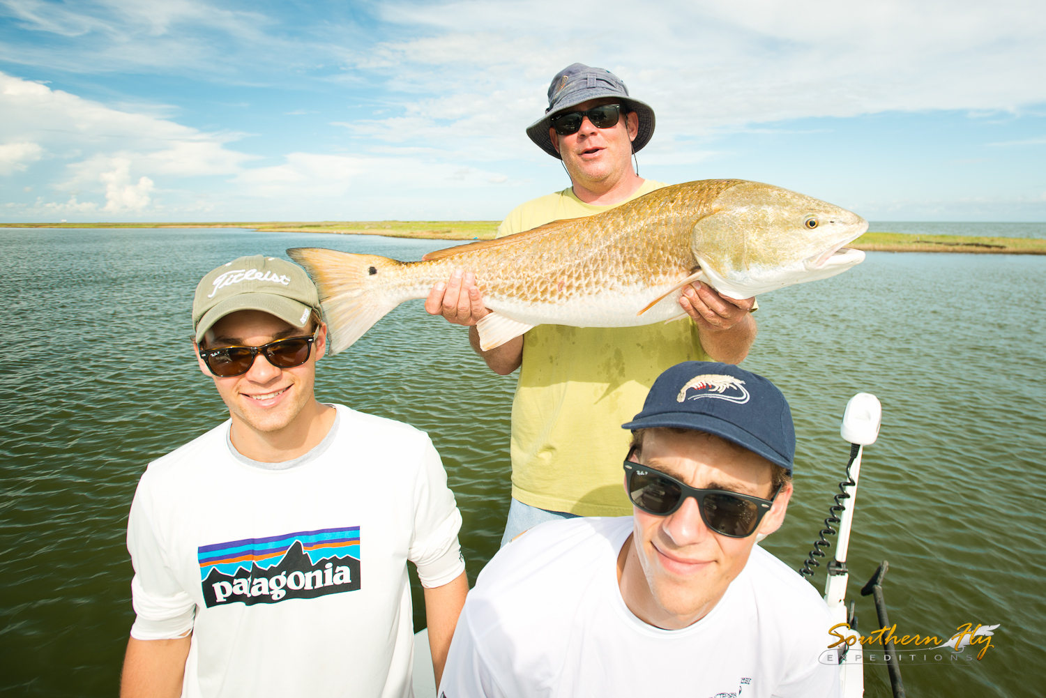 Fly fishing with family new orleans louisiana with southern fly expeditions and captain brandon keck