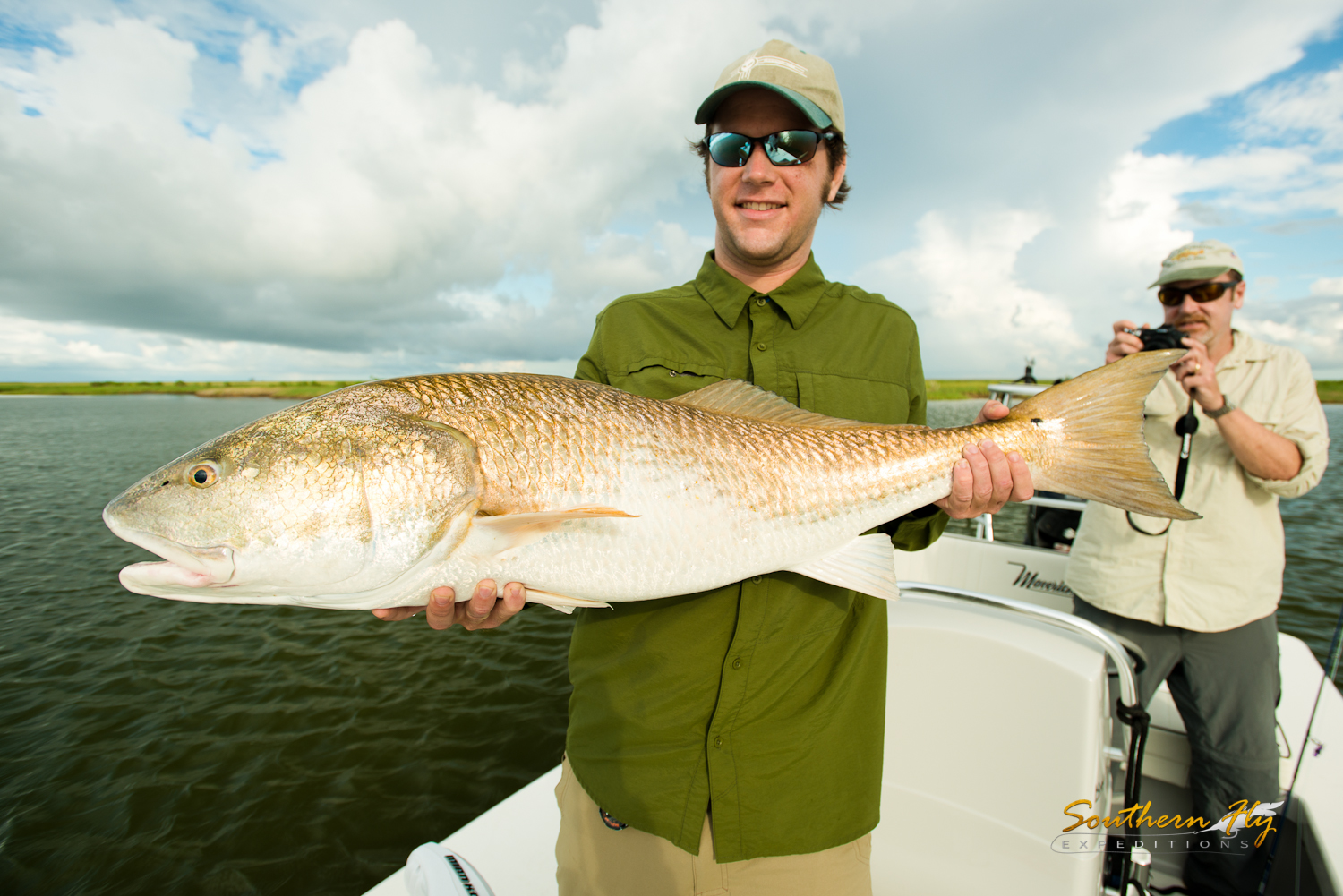 Fly fishing for redfish in Louisiana with Brandon Keck and Southern Fly Expeditions
