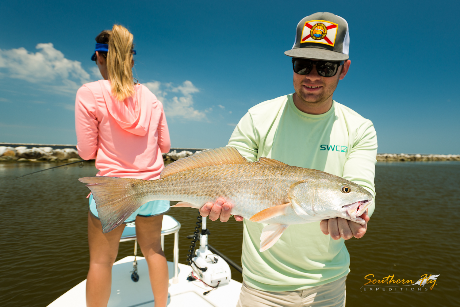 Fly Fishing New Orleans with the best redfish guide in louisiana - Southern Fly Expeditions