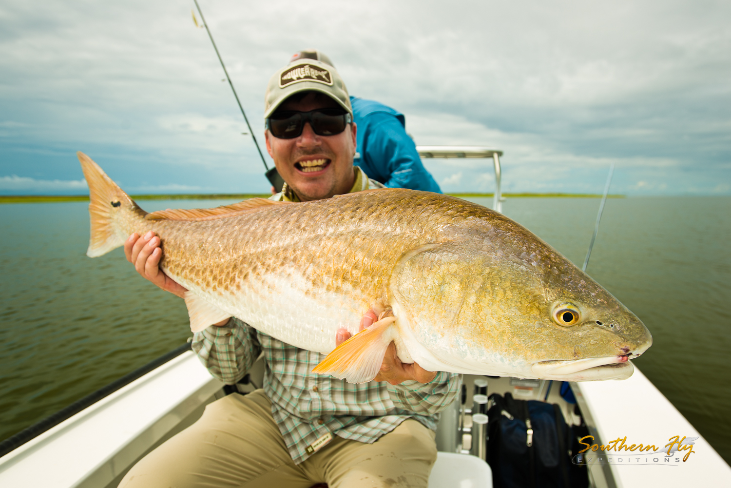 Fly Fishing Redfish Louisiana with Southern Fly Expeditions and Captain Brandon Keck