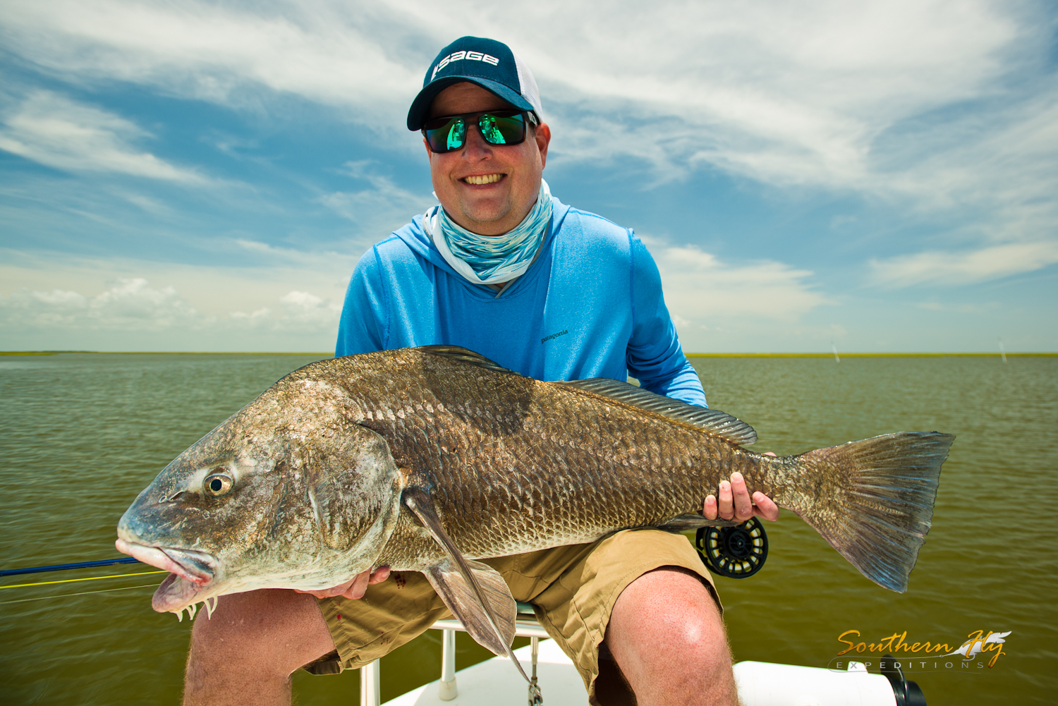 fly fishing new orleans la with Southern Fly Expeditions and captain brandon keck