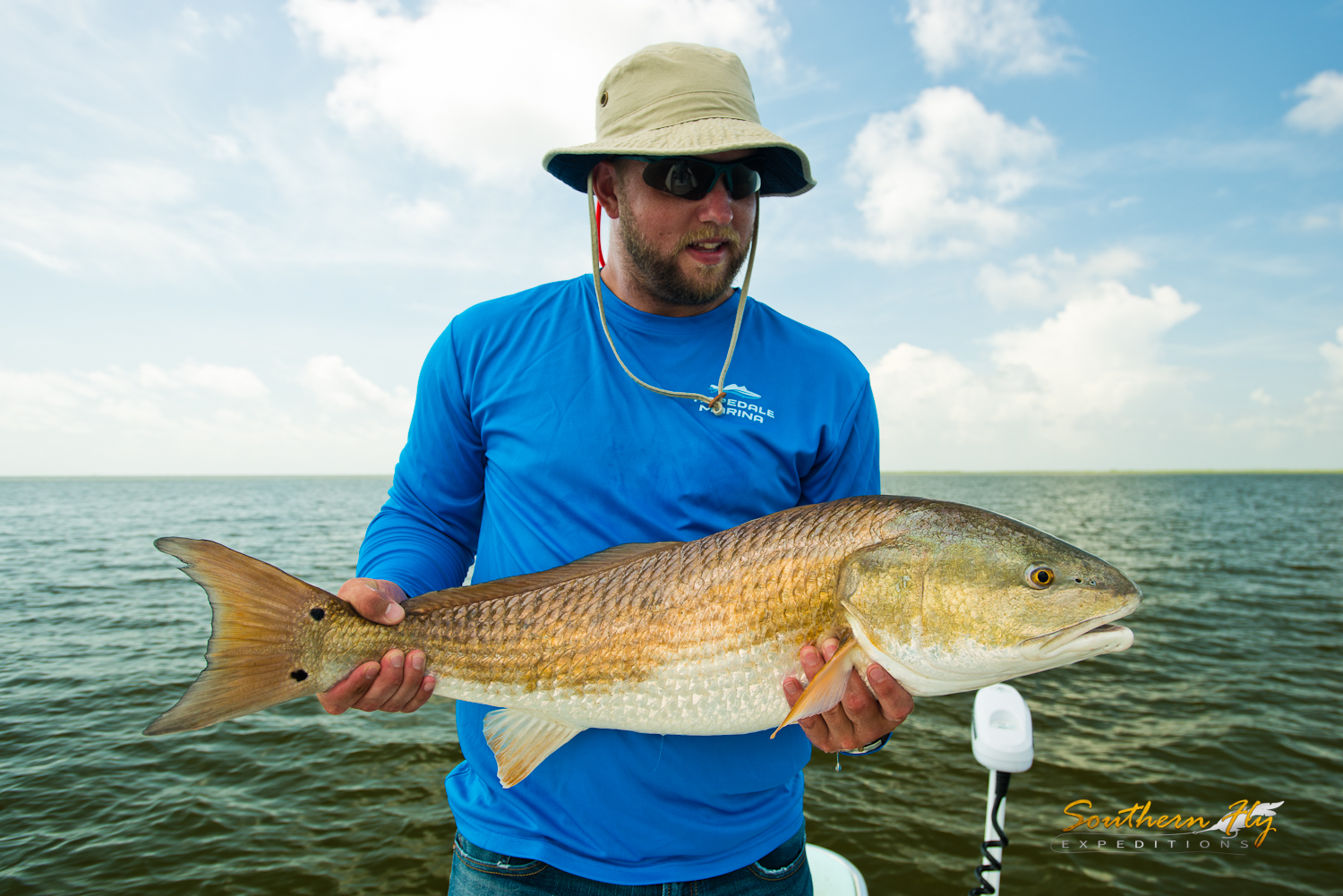 Southern Fly Expeditions fly fishing and light tackle guide with southern fly expeditions