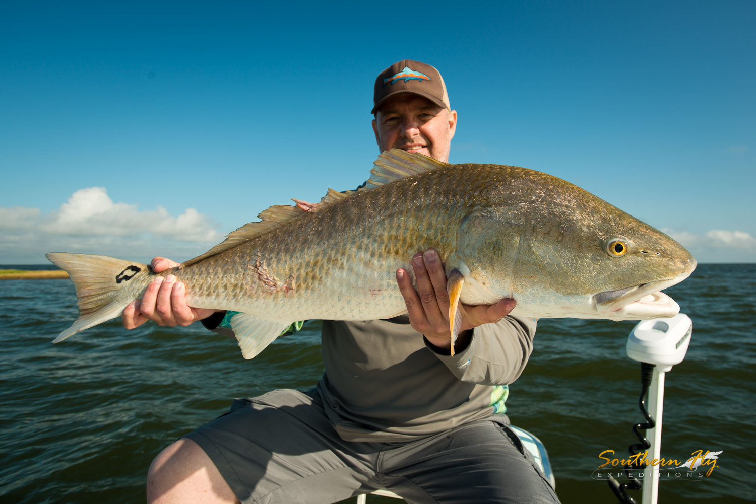 Fly Fishing Guide new orleans marsh area with Southern Fly Expeditions