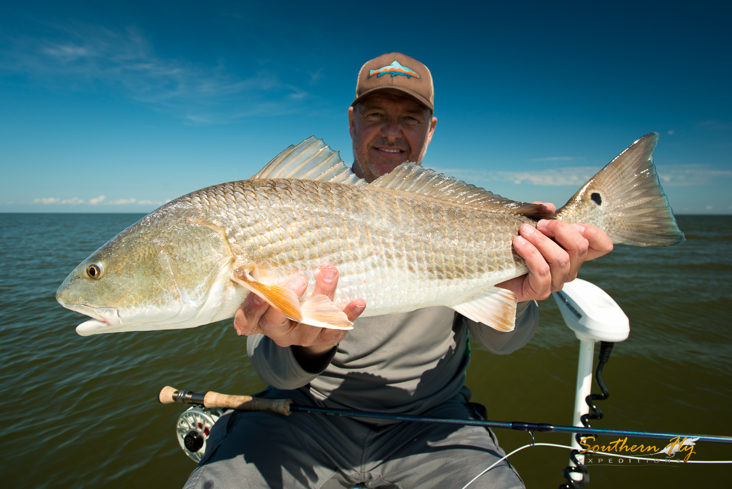 Southern Fly Expeditions Redfish Fishing guide new orleans louisiana