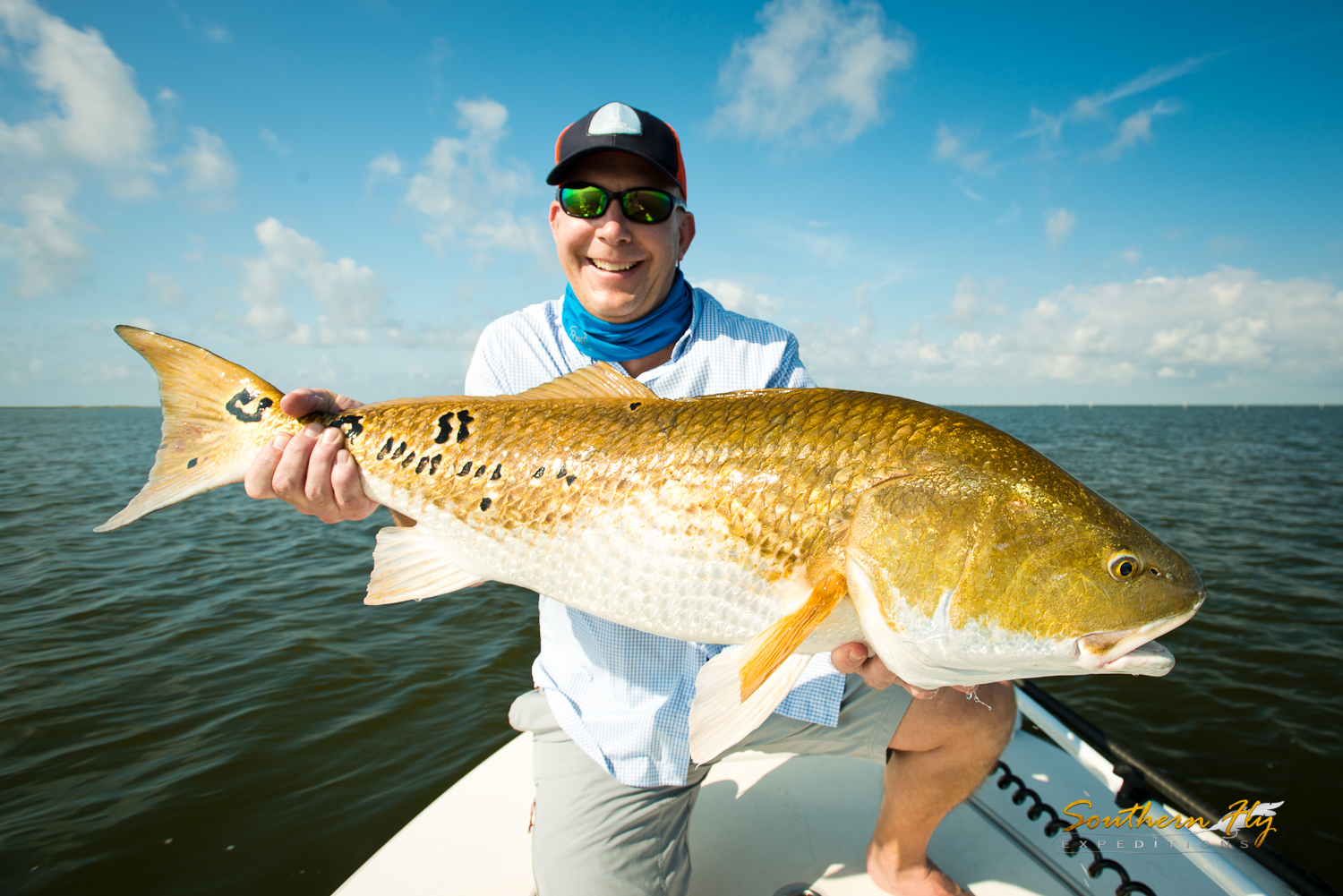 the Southern Fly Expeditions fly fishing charters louisiana