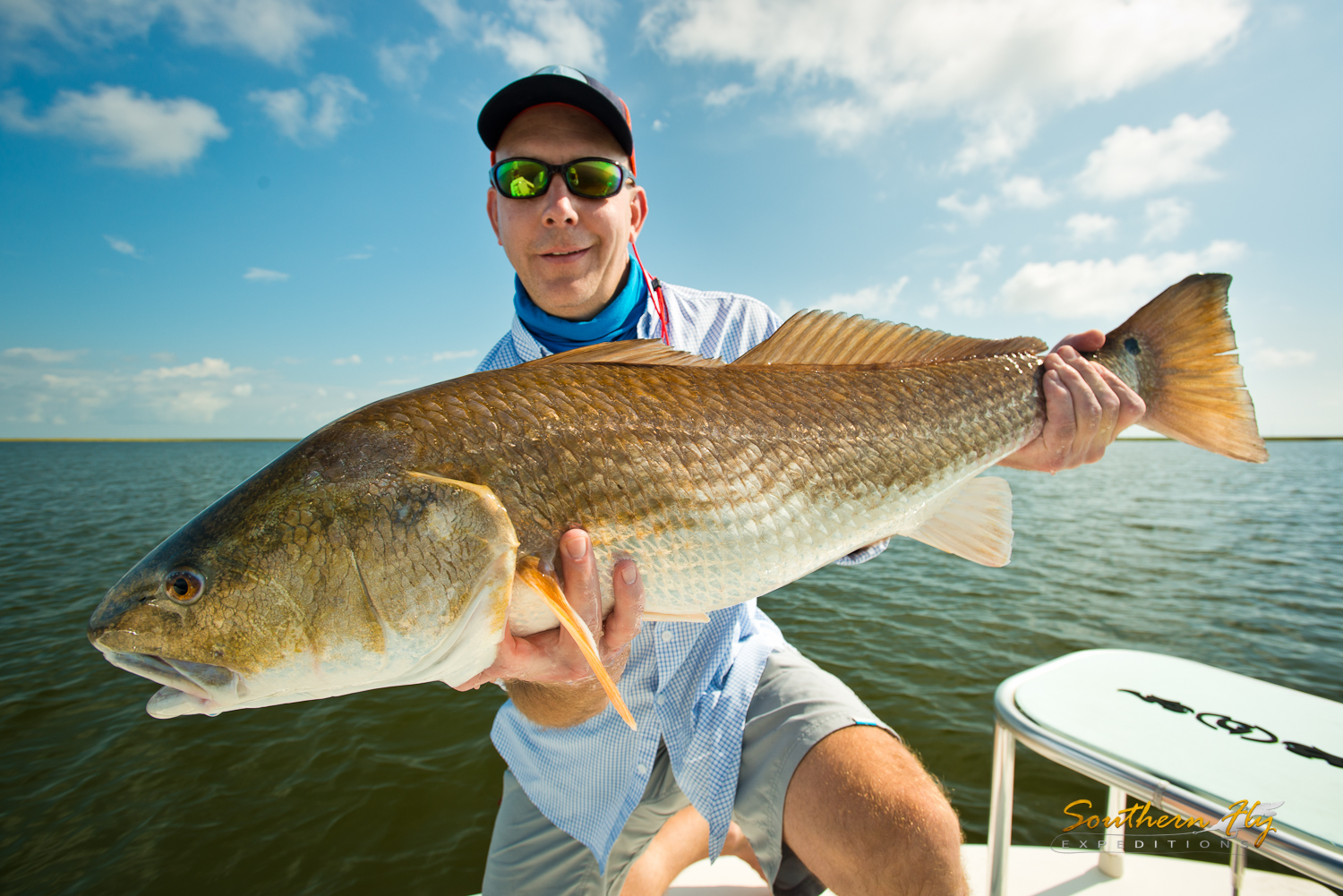 southern fly expeditions - fishing charter fly fishing